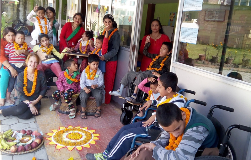 Tihar Celebration with Children
